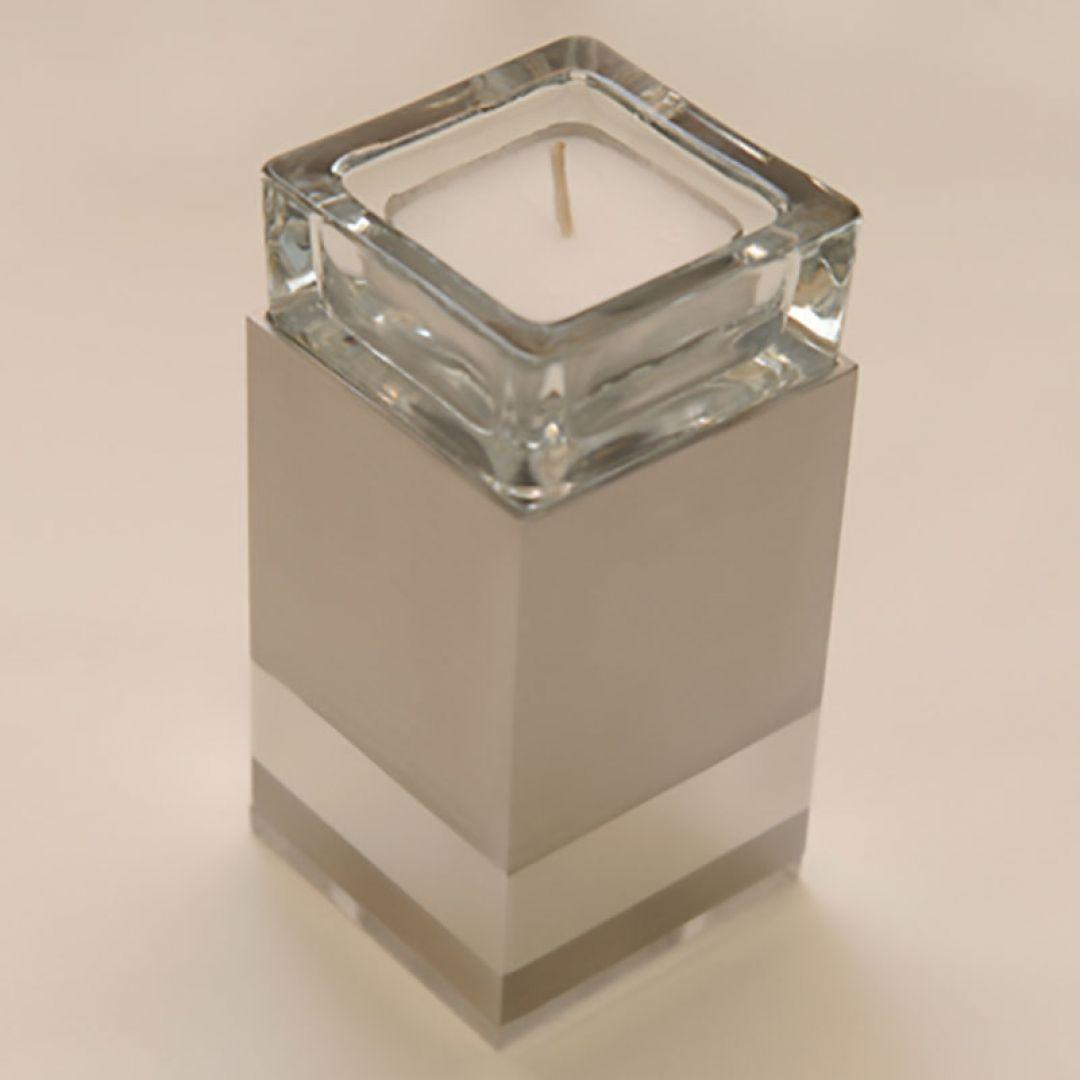 Moderne Waxinelichthouder mini urn Raya 120mm