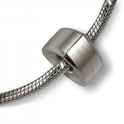 Asbedel zilver modern driehoek MB004}
