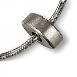 Asbedel zilver modern trapezium MB005}