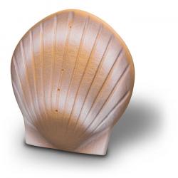 Bio urn schelp oplosbaar in water ZU003}