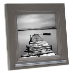 Fotolijst 13x13 met ruimte voor as in grijs/bruin FKS42LF7A1313}