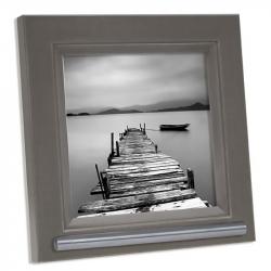 Fotolijst 20x20 met ruimte voor as in grijs/bruin FKS42LF7A2020}