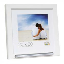 Fotolijst 20x20 met ruimte voor as in wit FKS40RK1A2020}