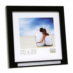 Fotolijst 20x20 met ruimte voor as in zwart FKS40RK2A2020}