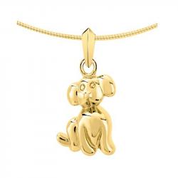 Gouden ashanger hond 2030G}