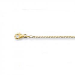 Gouden gourmet collier 42-1.8}