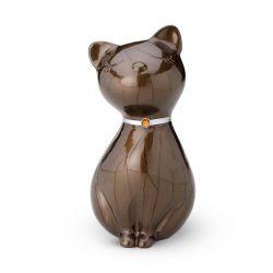 Mini urn kat donkerbruin HU265}