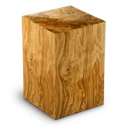 Houten urn olijfhout Essential Columbarium Olivo UR-C-ES-02L 6 liter}
