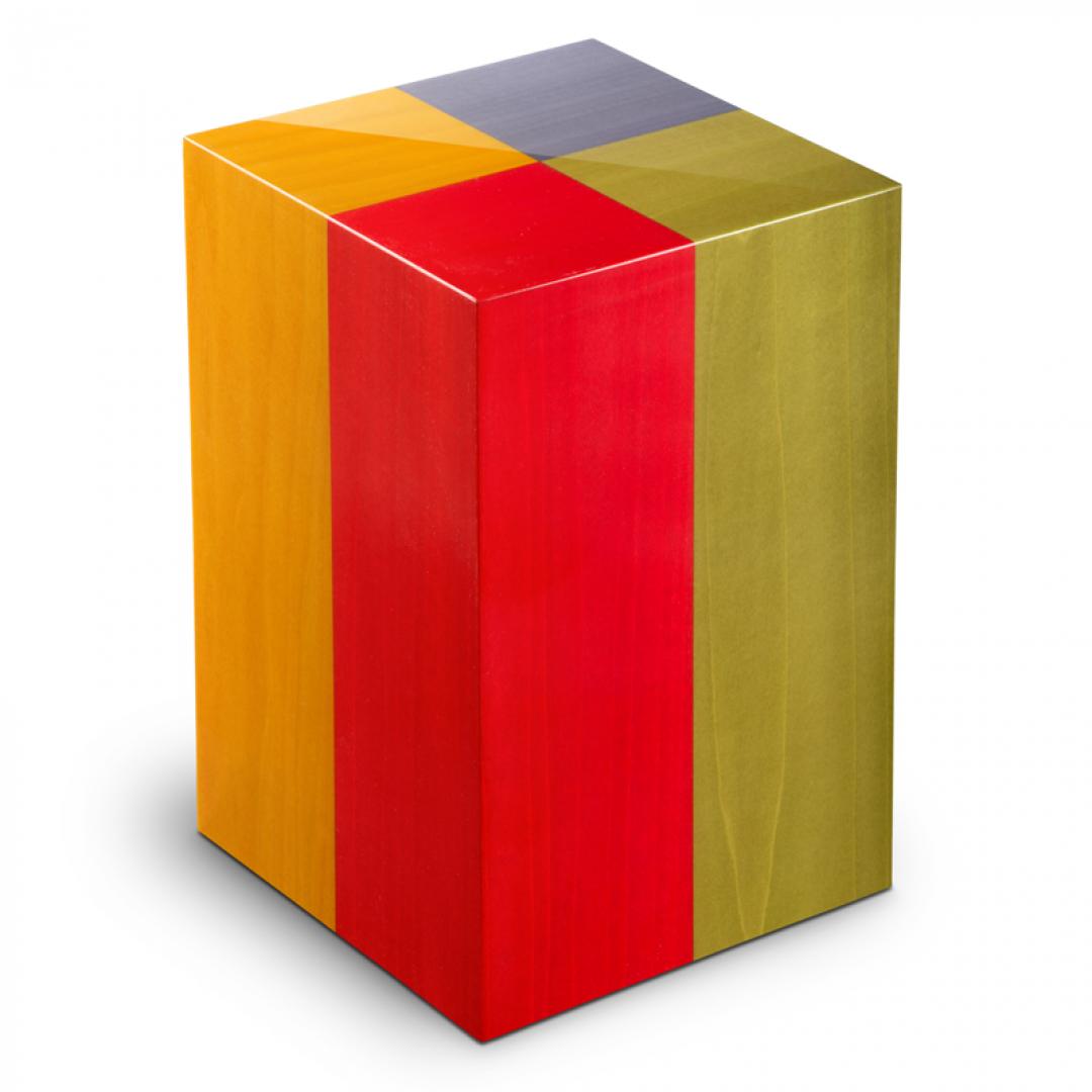 Houten urn in 4 kleuren Arlecchino UR-V-AR-01L 7 Liter