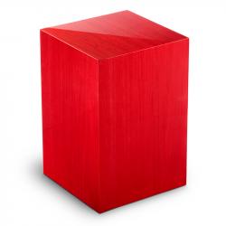 Houten urn in rood Essential Rosso UR-V-ES-01L 7 Liter}