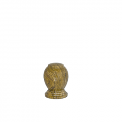 Marmeren mini urn bruin SU6221DK}