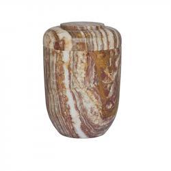 Marmeren urn bruin SU2715C}