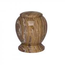 Marmeren urn bruin SU6221D}
