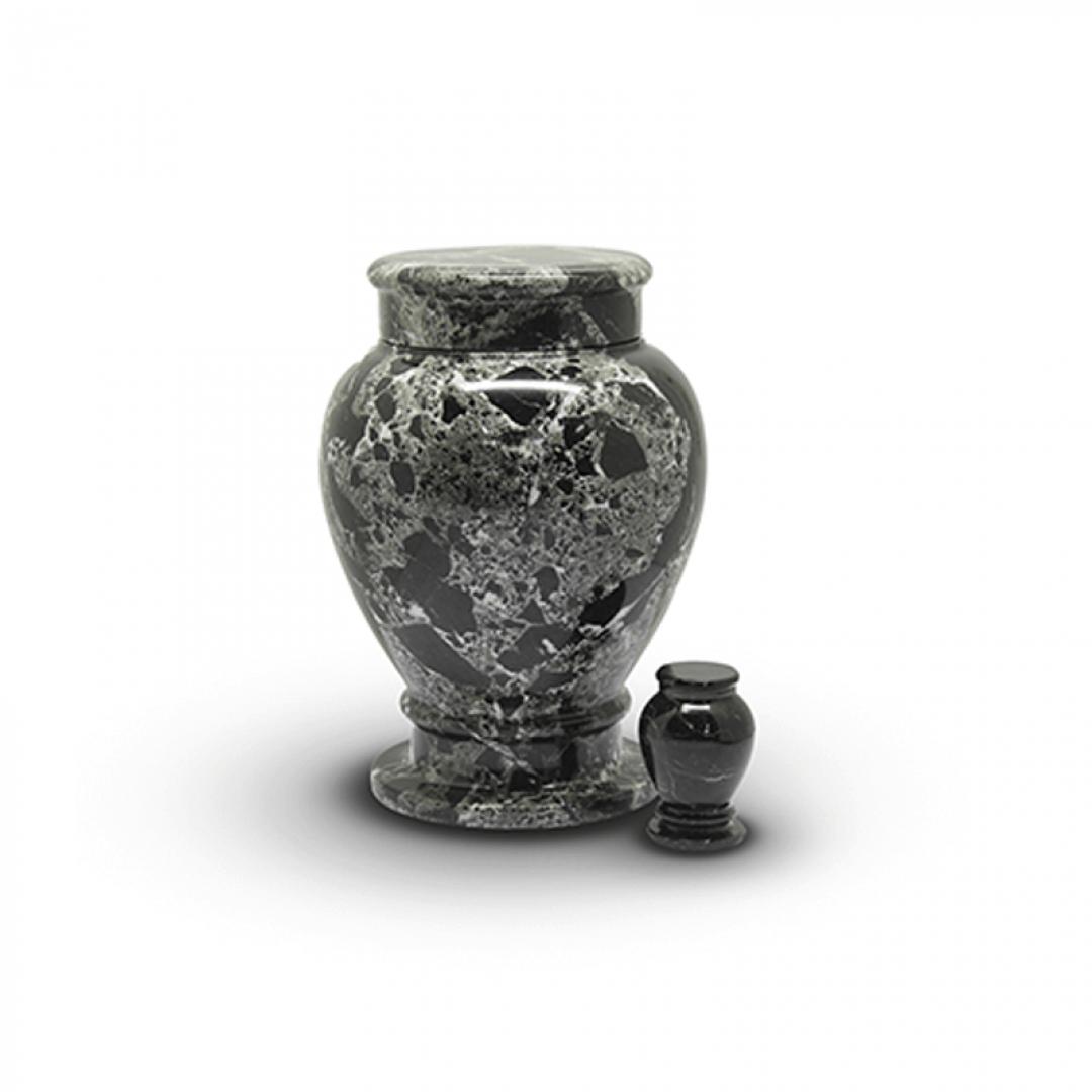 Marmeren mini urn grijs SU6781K