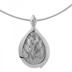 Zilveren medaillon boom 8113Z