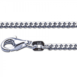 Zilveren collier 2.1 50cm}