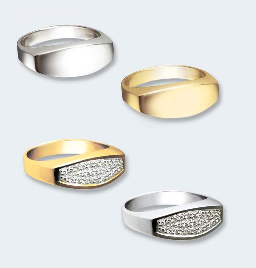 Ring in goud bol 525 GR