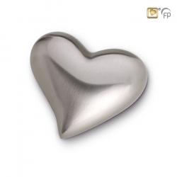Zilverkleur hart mini urn HUH022}