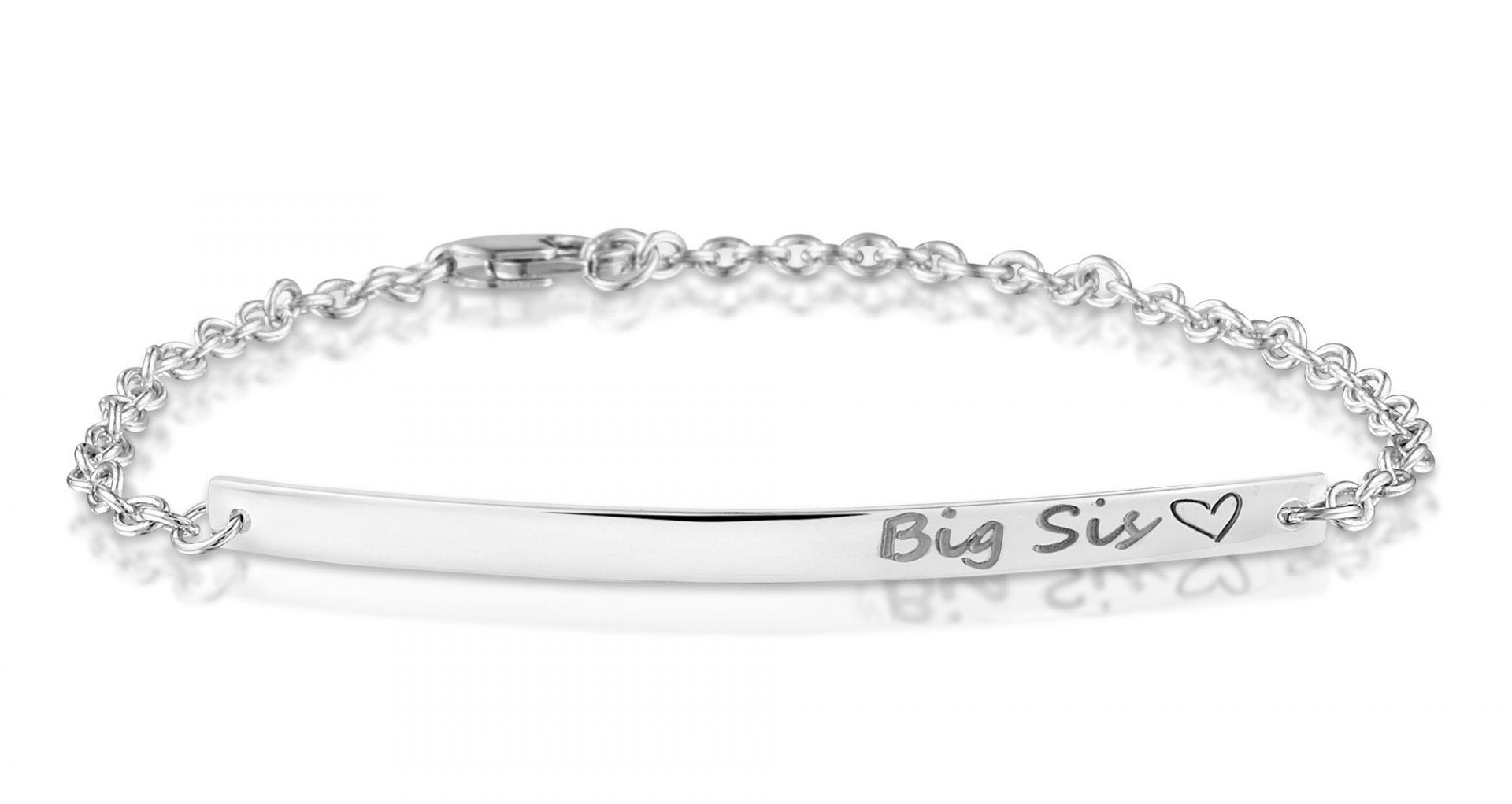 Zilveren bar-armband 419 S/50mm