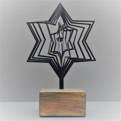 3D urn ster met hanger 718ste00}