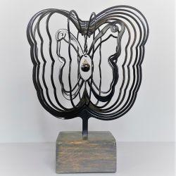 3D urn vlinder met hanger 721vli00}