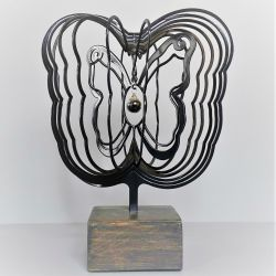 3D urn vlinder mét hanger 721vli00}