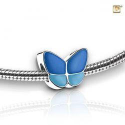 Assieraad vlinderbedel blauw BBF002}