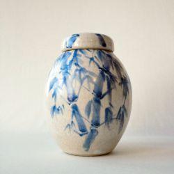 Bamboo urn}