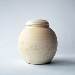 I will carry you with me urn}