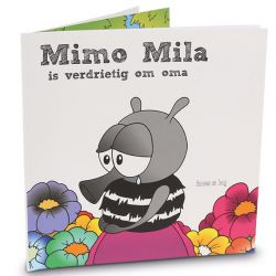 Kinderboek voor hulp bij overlijden Oma}