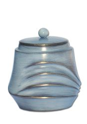 Mini urn antiek blauw grijs P605GRBL}