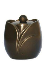 Mini urn antiek bruin P843ANTIM}