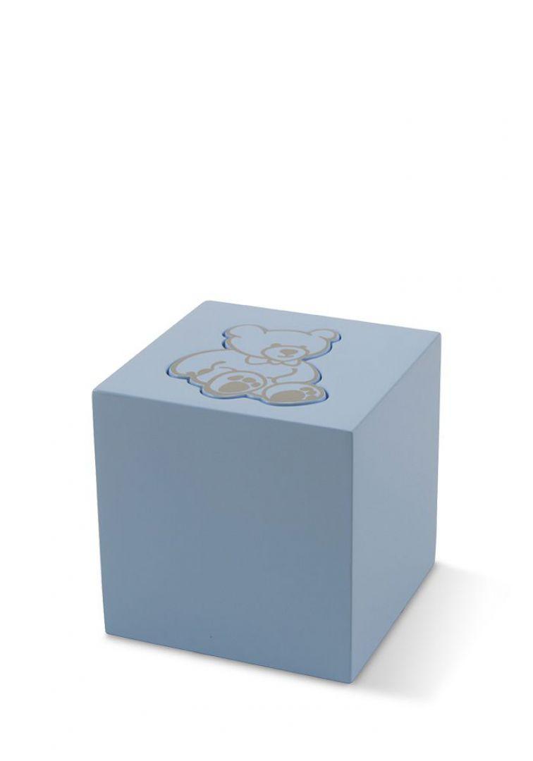 Kinder teddy urn blauw TBCMC5500