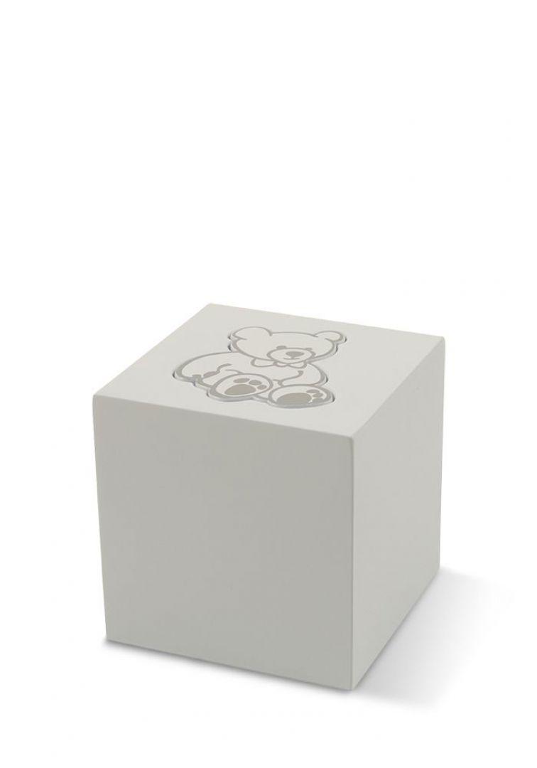 Kinder teddy urn wit TBCMC5502