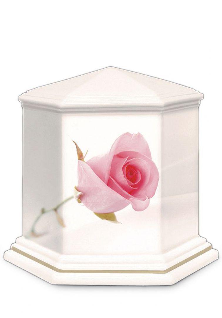 Porselein urn UPOLEG803