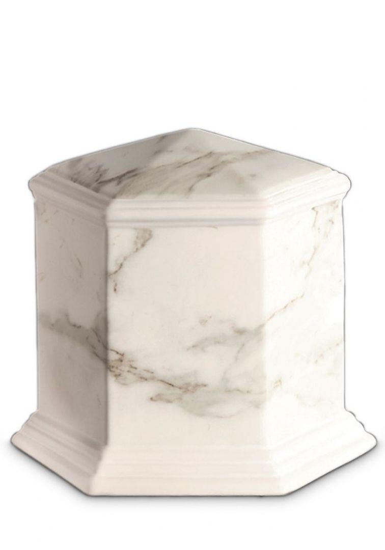 Porselein urn UPOLEG804
