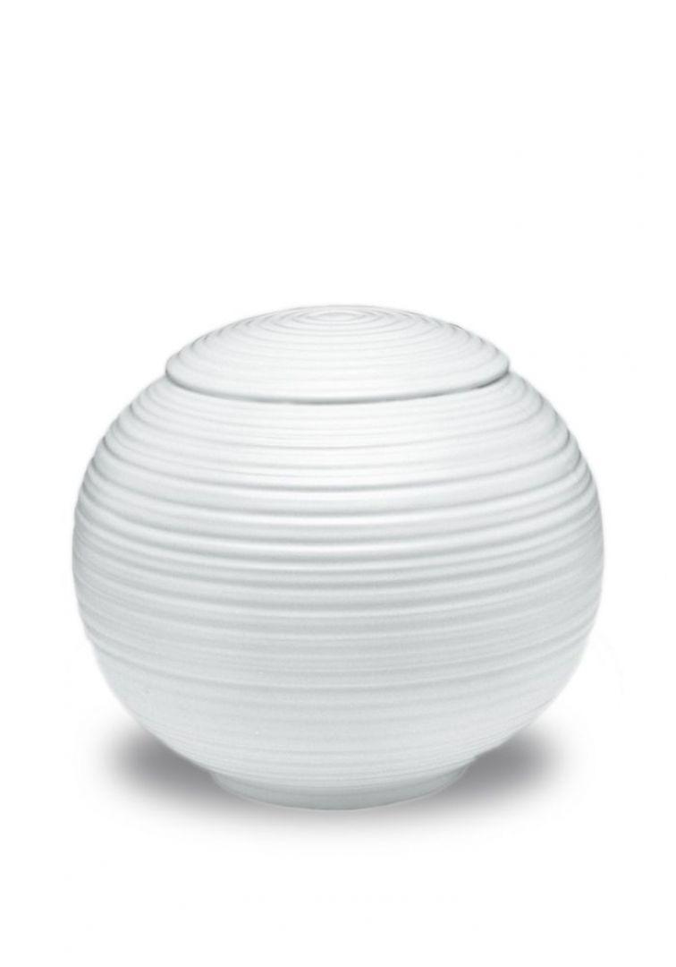 Porselein urn UPOLSG02