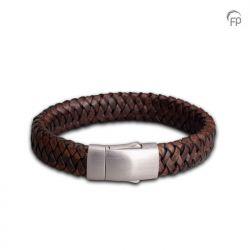 Embrace Armband Gevlochten Leder FPU 602}